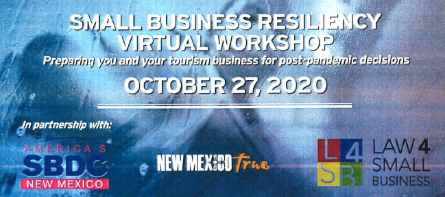 Small Business Resiliency Virtual Workshop